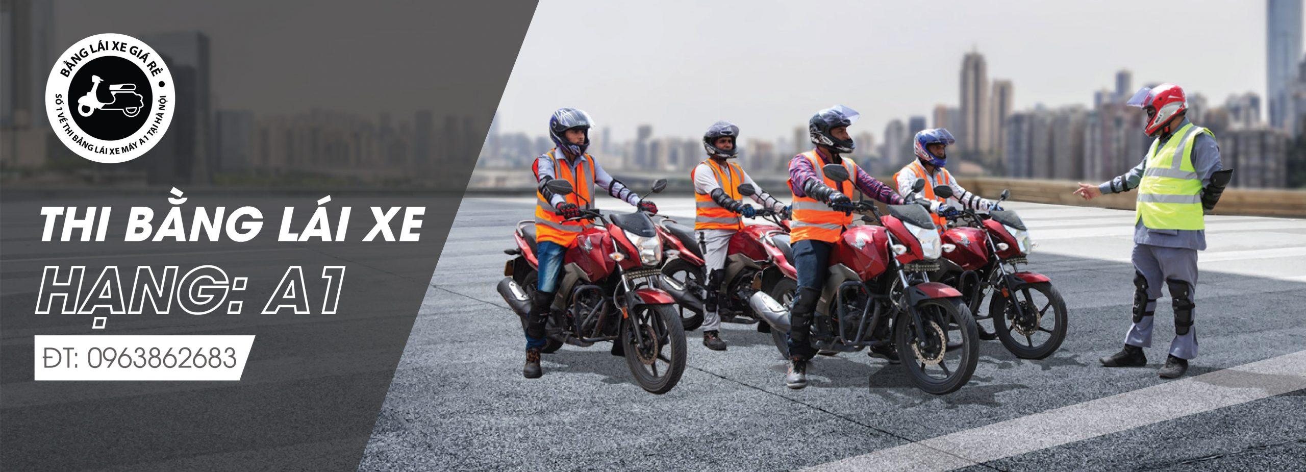 Banglaixegiare số 1 về thi bằng lái xe máy tại Hà N