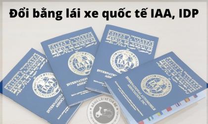 Đổi giấy phép lái xe quốc tế – Cực nhanh – Giá tốt – Bằng thật 100%