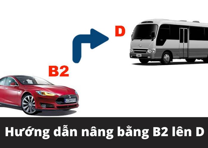 nâng bằng b2 lên d